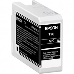 Epson T770 (T770820) Matte Black Ink Cartridge