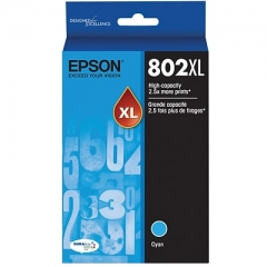 Epson T802XL220 Cyan Ink Cartridge