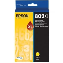 Epson T802XL420 Yellow Ink Cartridge