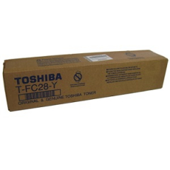 Toshiba TFC28Y Yellow Toner Cartridge