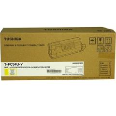 Toshiba TFC34UY Yellow Toner Cartridge