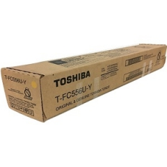 Toshiba TFC556UY Yellow Toner Cartridge