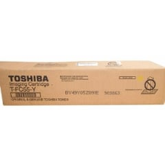 Toshiba TFC55Y Yellow Toner Cartridge