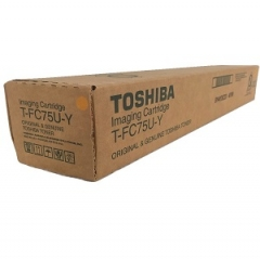 Toshiba TFC75UY Yellow Toner Cartridge