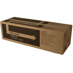 Copystar TK669 Black Toner Cartridge
