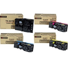 Kyocera TK827 Toner Cartridge Set