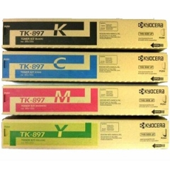 Kyocera TK897 Toner Cartridge Set