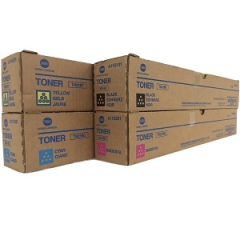 Konica Minolta TN216 Toner Cartridge Set