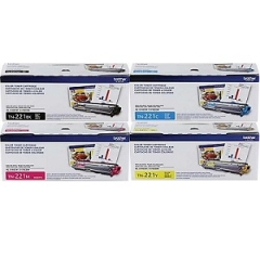 Brother TN221 Toner Cartridge Set