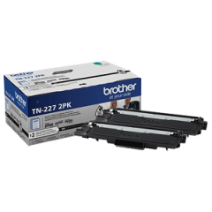 Brother TN2272PK Black Toner Cartridge Twin Pack