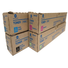 Konica Minolta TN328 Toner Cartridge Set