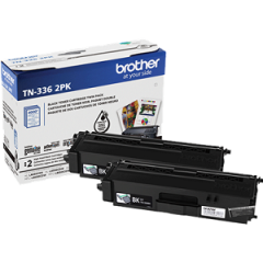 Brother TN3362PK Black Toner Cartridge Twin Pack