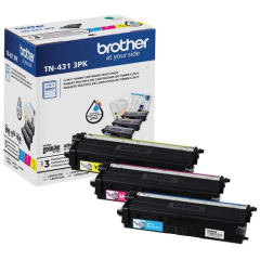 Brother TN4313PK Color Toner Cartridge Multi-Pack