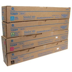 Konica Minolta TN512 Toner Cartridge Set