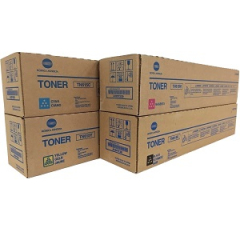 Konica Minolta TN615 Toner Cartridge Set