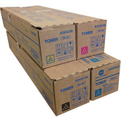 Konica Minolta TN622 Toner Cartridge Set