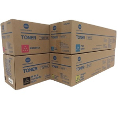 Konica Minolta TN711 Toner Cartridge Set