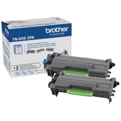 Brother TN8502PK Black Toner Cartridge Twin Pack