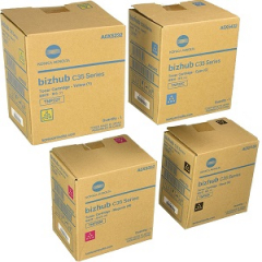 Konica Minolta TNP22 Toner Cartridge Set