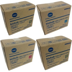 Konica Minolta TNP49 Toner Cartridge Set