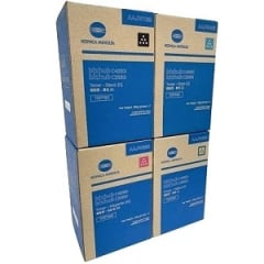 Konica Minolta TNP79 Toner Cartridge Set