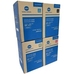 Konica Minolta TNP81 Toner Cartridge Set