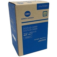 Konica Minolta TNP81Y (AAJW231) Yellow Toner Cartridge
