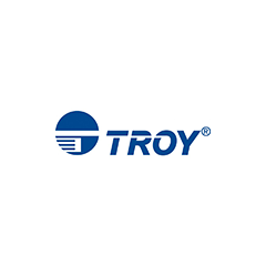 "Troy Blue Check Security Paper - Check Bottom 2-Perforations - 4.0 / 7.5 (8.5"" x 11"") (500 Sheets/Re"