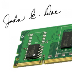 TROY 02-00340-001 Digital Signature/Logo Card Kit