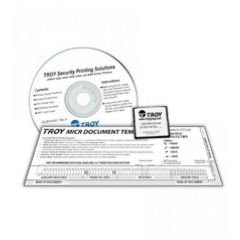 TROY 02-20370-001 MICR Font Card Kit