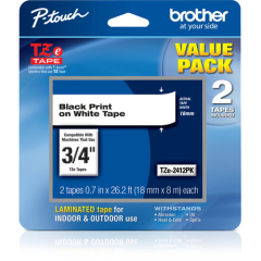 Brother TZE2412PK Tape
