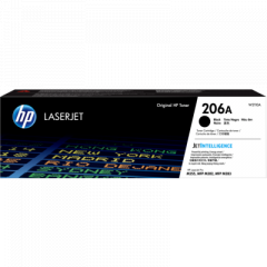 HP 206A Black Toner Cartridge W2110A