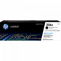HP 206X High Yield Black Toner Cartridge W2110X
