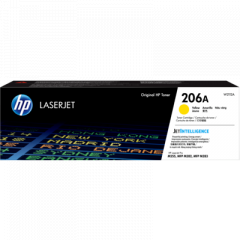HP 206A Yellow Toner Cartridge W2112A