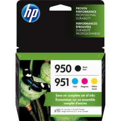 HP 950 Black/951 Cyan/Magenta/Yellow Ink Cartridges