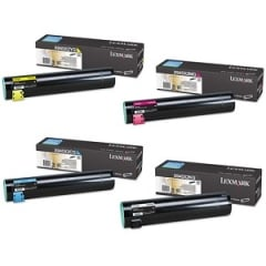 Lexmark X945 Toner Cartridge Set