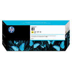 HP C4933A Yellow Dye Ink Cartridge