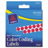 Avery 05790 Color Coding Labels