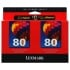 Lexmark 15M1335 Color Ink Cartridge Twin Pack