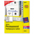 Avery 6572 Permanent ID Labels