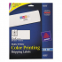 Avery 8253 Vibrant Color Printing Mailing Labels