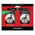 Lexmark 18C1570 Black Ink Cartridge Twin Pack