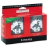 Lexmark 18C2228 Black Ink Cartridge Twin Pack