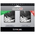 Lexmark 18C2230 Black Ink Cartridge Twin Pack