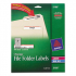 Avery 5166 Permanent File Folder Labels