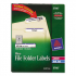 Avery 5766 Permanent File Folder Labels
