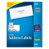 Avery 5360 Copier Mailing Labels