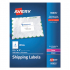 Avery 95935 White Shipping Labels