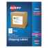 Avery 95920 White Shipping Labels