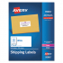 Avery 95945 White Shipping Labels